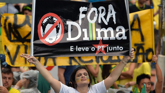 Protesto anti-Dilma